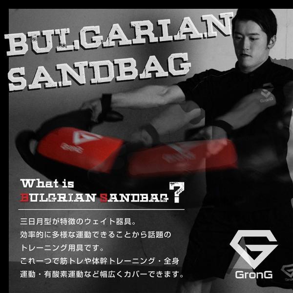 GronG ブルガリアンサンドバッグ 15kg 筋トレ 全身 体幹 トレーニング grong 08