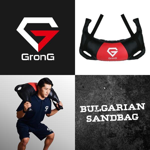 GronG ブルガリアンサンドバッグ 20kg 筋トレ 全身 体幹 トレーニング|grong|02