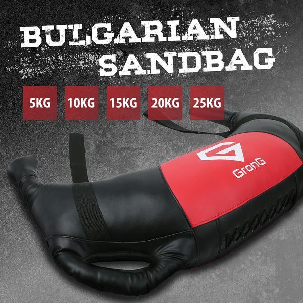 GronG ブルガリアン サンドバッグ 25kg 筋トレ 全身 体幹 トレーニング|grong|03