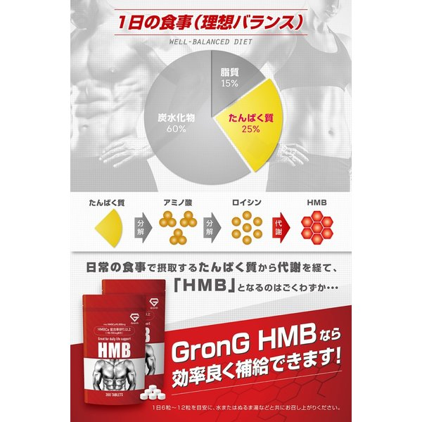 GronG(グロング) プロテイン ココア風味 1kg HMB セット ホエイプロテイン100 国産 WPC おきかえダイエット 筋トレ grong 08