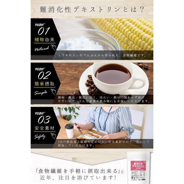 GronG(グロング) 難消化性デキストリン 水溶性食物繊維 400g (約57日分) 無添加 グルテンフリー|grong|04