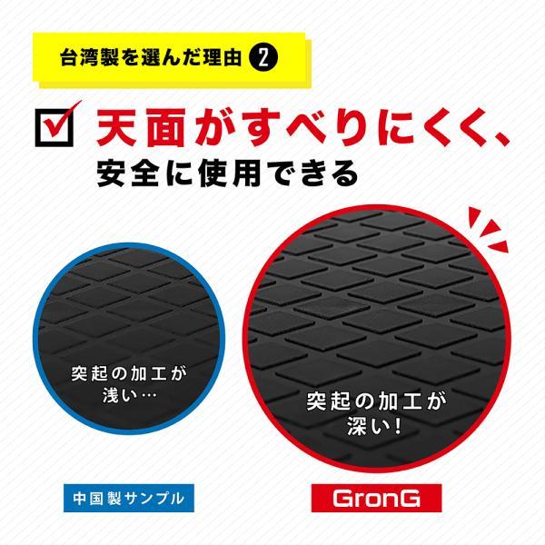 GronG(グロング) 踏み台 昇降運動 ステップ台 運動 フィットネス エクササイズ 2段階調整可能 滑り止め加工|grong|06