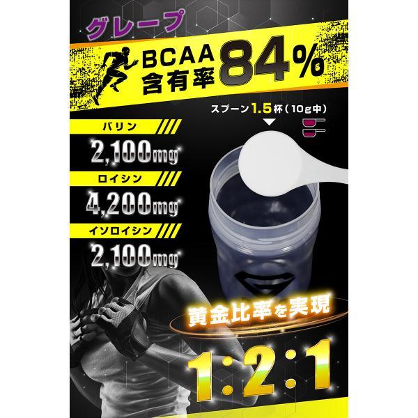 【1000円クーポン】GronG(グロング) BCAA 含有率84% グレープ 風味 1kg (100食分)  分岐鎖アミノ酸 サプリメント 国産|grong|04
