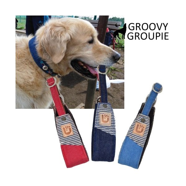 デニム!ハーフチョーク【大型犬用】ゴールデンレトリーバー、ラブラドールにぴったり!|groovygroupie