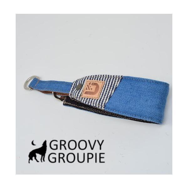 デニム!ハーフチョーク【大型犬用】ゴールデンレトリーバー、ラブラドールにぴったり!|groovygroupie|12