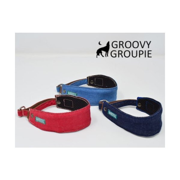 デニム!ハーフチョーク【大型犬用】ゴールデンレトリーバー、ラブラドールにぴったり!|groovygroupie|04