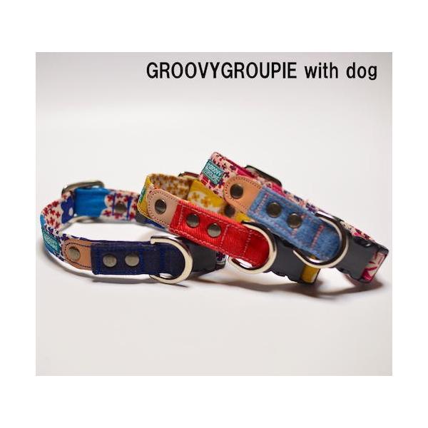 小型犬用【Sサイズ】首輪 花柄プリント|groovygroupie|04
