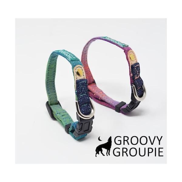 超小型犬用 首輪  グラデーション&デニム|groovygroupie|06