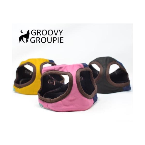 小型犬用 ハーネス  ソフト ベスト型  ツイル&デニム  犬 胴輪 ボディハーネス 日本製  groovygroupie 09
