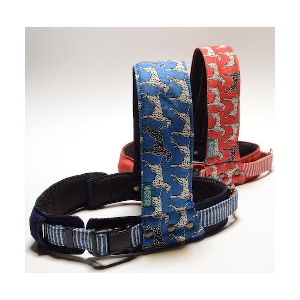 犬用ハーネス ダルメシアンプリント クイックハーネス・胴輪 小型犬用 ワンタッチで装着簡単 裏地クッションで優しい。 日本製|groovygroupie|05