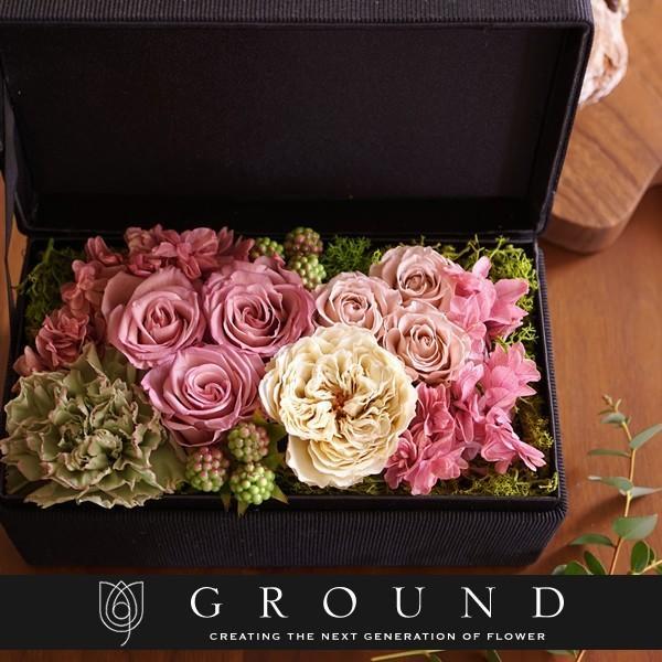 プリザーブドフラワー 母の日 花 ギフト プレゼント 母の日ギフト2020 誕生日プレゼント おしゃれ 結婚記念日 両親 妻 電報 結婚式 祝電 送料無料 ground-flower