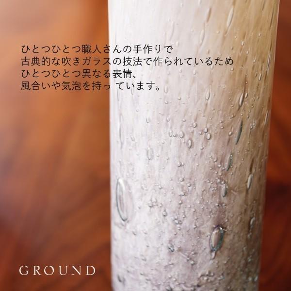 Henry Dean(ヘンリーディーン)・花瓶・グラス・flowervase ground-flower 07