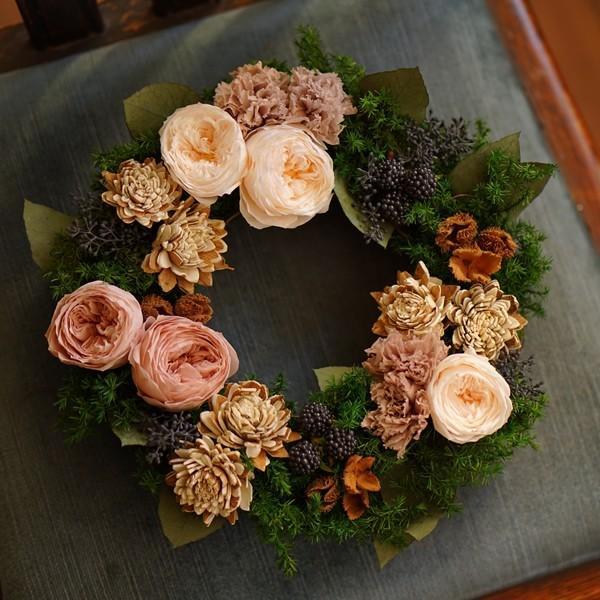 プリザーブドフラワー プレゼント ギフト 花 祝電 電報 結婚式 おしゃれ リース 開店祝い 新築祝い 送料無料 結婚祝い|ground-flower|04