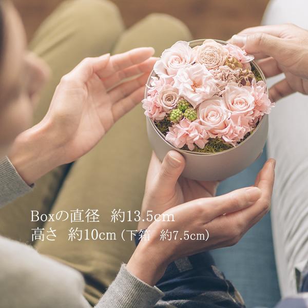 祝電 電報 結婚式 おしゃれ 花 結婚祝い プリザーブドフラワー プレゼント ギフト ブリザードフラワー ボックス サプライズ お祝い バラ|ground-flower|05