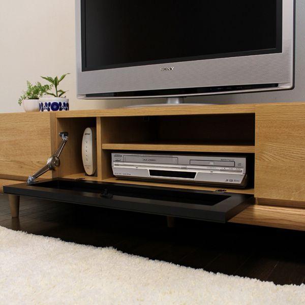 テレビ台 160cm テレビボード NA TV台 完成品 北欧 ローボード 収納 おしゃれ|grove|03