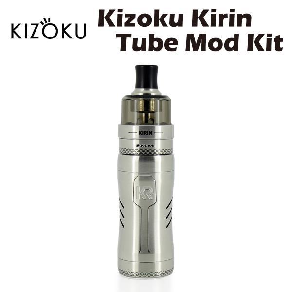 KizokuKirinTubeModKit18350バッテリー付属キゾクキリンチューブモッドスターターキットセミメカニカルセミメ