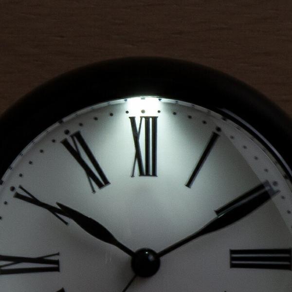 ARNE JACOBSEN アルネ ヤコブセン テーブル クロック ローマン 43671 時計 置き時計 目覚まし時計 アナログ ブラック 黒 ホワイト 白|gryps|05