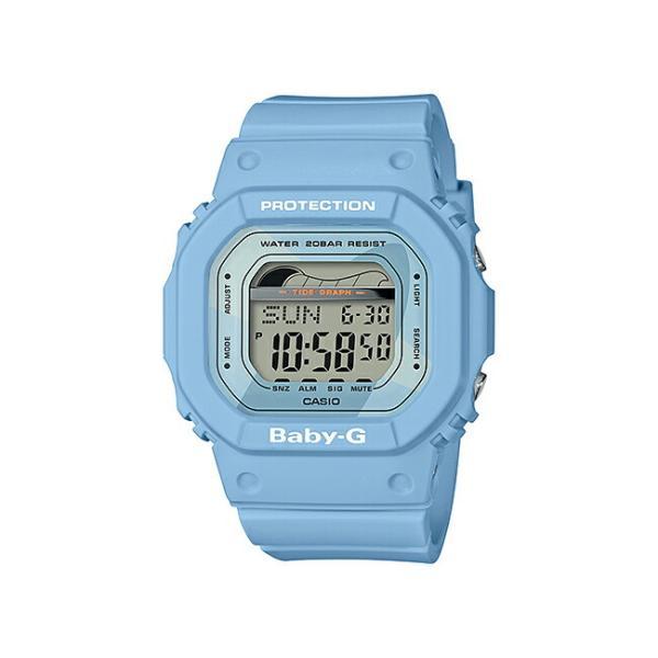 CASIO BABY-G G-LIDE カシオ ベビーG Gライド BLX-560-2JF 腕時計 レディース キッズ 子供 女の子 ベビージー デジタル 防水 スカイブルー 水色