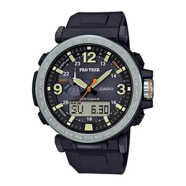 10年保証 送料無料 CASIO PROTREK カシオ プロトレック PRG-600-1 腕時計 メンズ アウトドア トレッキング 登山 アナデジ ソーラー 防水 ブラック 黒 シルバー|gryps|05
