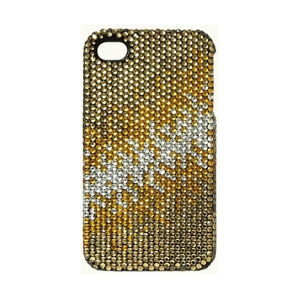 【残りわずか】iPhone 4S/iPhone 4 共通 Gold Fade/Crystal Case|gs-net|02