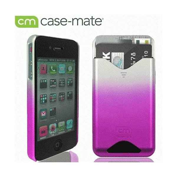 iPhone 4S/iPhone 4 共通 ID/Case/Matte/Royal/Pink|gs-net