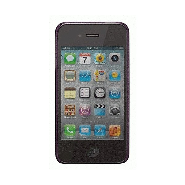 iPhone 4S/iPhone 4 共通 BarelyMatte/Collection/Amethyst|gs-net|02