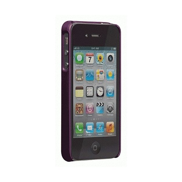 iPhone 4S/iPhone 4 共通 BarelyMatte/Collection/Amethyst|gs-net|03