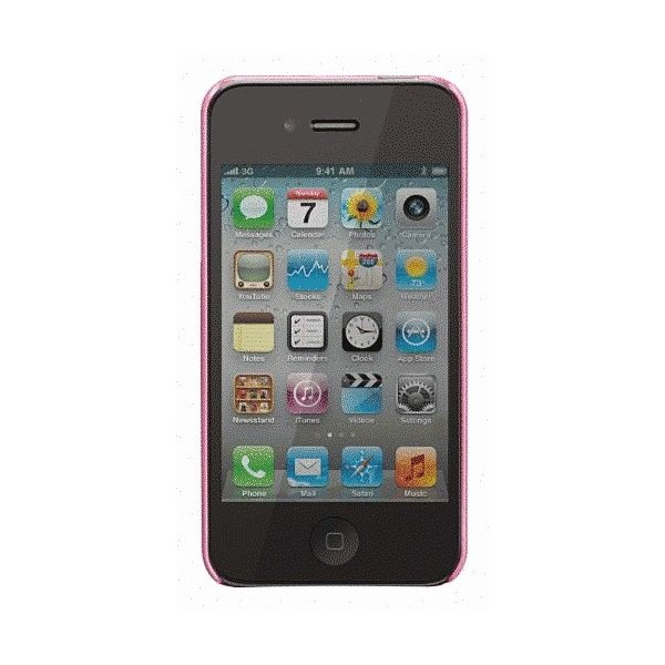 iPhone 4S/iPhone 4 共通 Barely/Case/Pearl/Pink|gs-net|02