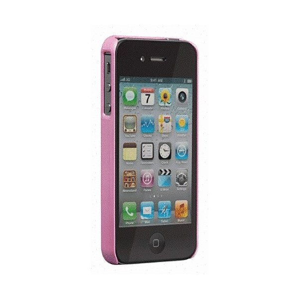 iPhone 4S/iPhone 4 共通 Barely/Case/Pearl/Pink|gs-net|03