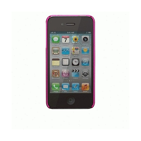 iPhone 4S/iPhone 4 共通 Barely/Case/Pearl/Pink|gs-net|05