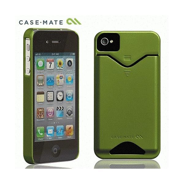 iPhone 4S/iPhone 4 共通 ID/Case/Matte/Green|gs-net|02