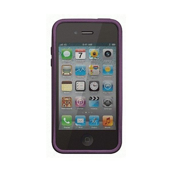 iPhone 4S/iPhone 4 共通 SkinEmerge/Smooth/Medium/Purple|gs-net|02