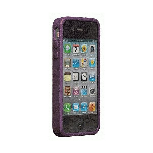 iPhone 4S/iPhone 4 共通 SkinEmerge/Smooth/Medium/Purple|gs-net|03