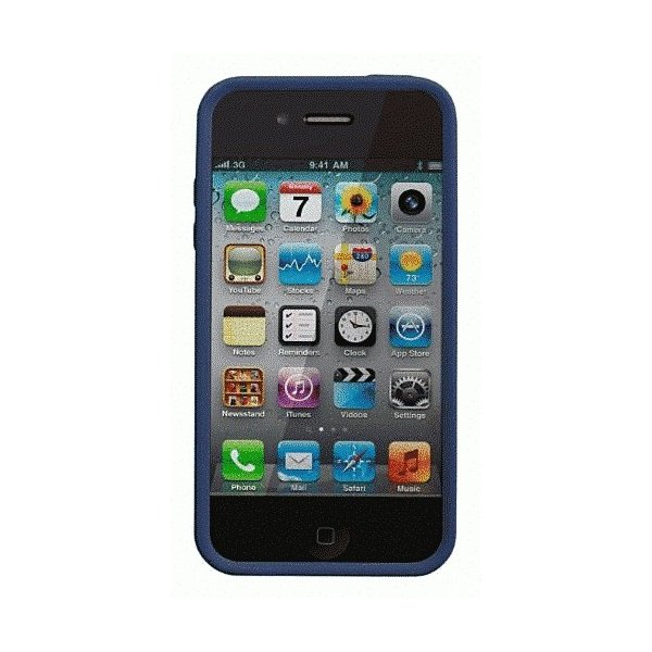 iPhone 4S/iPhone 4 共通 Safe/Skin/Emerge/Angles/Blue|gs-net|02