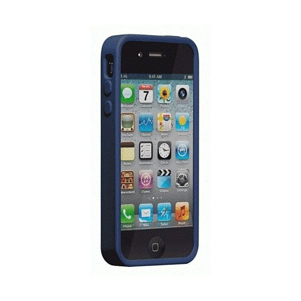 iPhone 4S/iPhone 4 共通 Safe/Skin/Emerge/Angles/Blue|gs-net|04