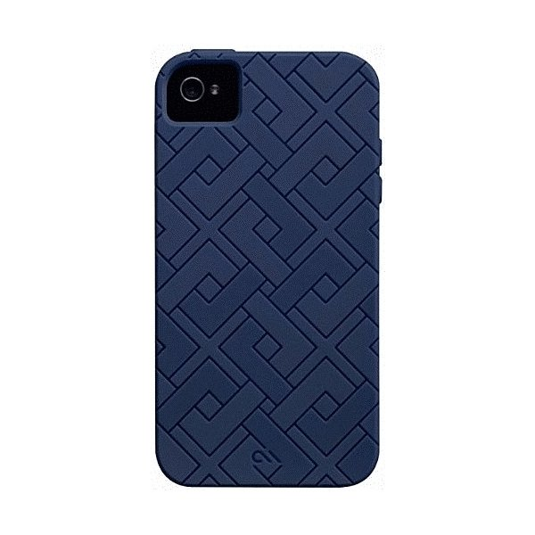 iPhone 4S/iPhone 4 共通 Safe/Skin/Emerge/Angles/Blue|gs-net|06