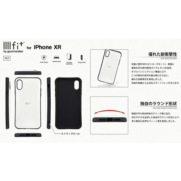 iPhone XR イーフィット/スモークPK gs-net 03