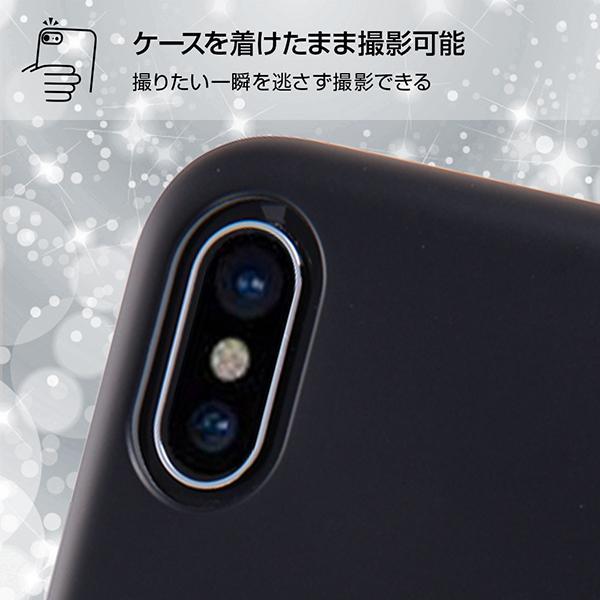 iPhone XS/iPhone X 共通 ディズニー/TPUソフトケース/クローズアップ/MN|gs-net|05