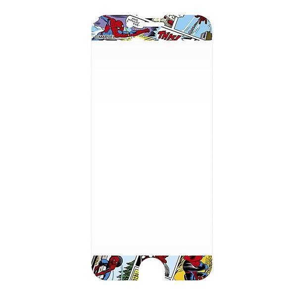 iPhone 8/iPhone 7/iPhone 6S/iPhone 6 共通 iPhone 6 6S 7 8/マーベル/保護フィルム/衝撃/スパイダーマン|gs-net|03