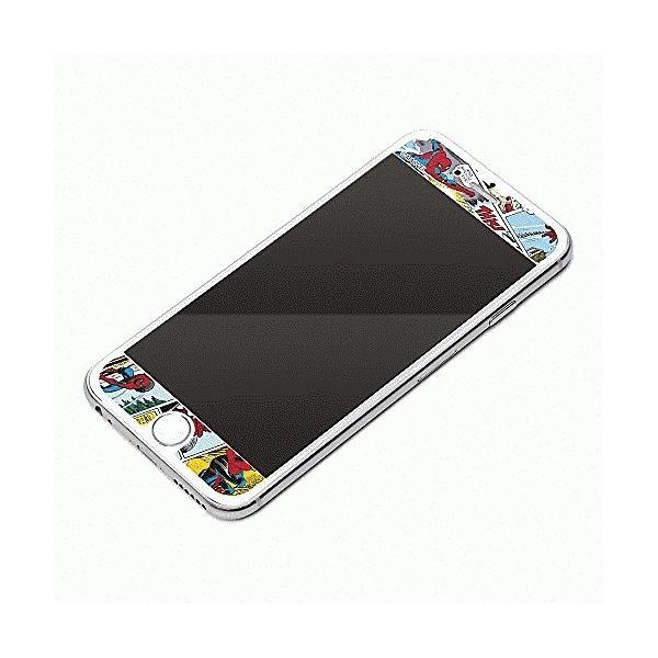 iPhone 8/iPhone 7/iPhone 6S/iPhone 6 共通 iPhone 6 6S 7 8/マーベル/保護フィルム/衝撃/スパイダーマン|gs-net|04