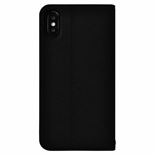 iPhone XS/iPhone X 共通 New/Balance/シンプル手帳ケース/ブラック gs-net 03