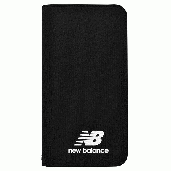 iPhone XR New/Balance/シンプル手帳ケース/ブラック|gs-net|02
