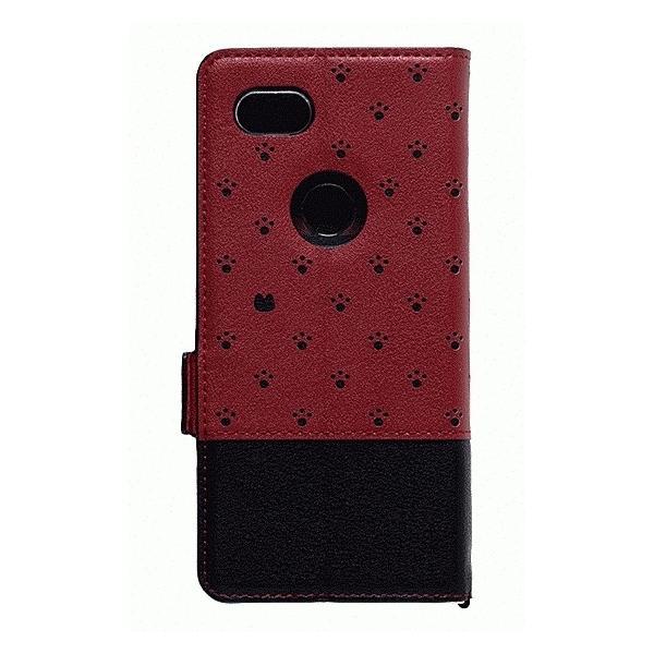 Google Pixel 3a 手帳型ケース Minette Red-Black|gs-net|02