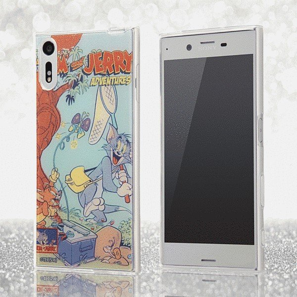 Xperia XZs 602SO/Xperia XZs SOV35/Xperia XZs SO-03J 共通 トムとジェリー/TPU/コミックスA|gs-net