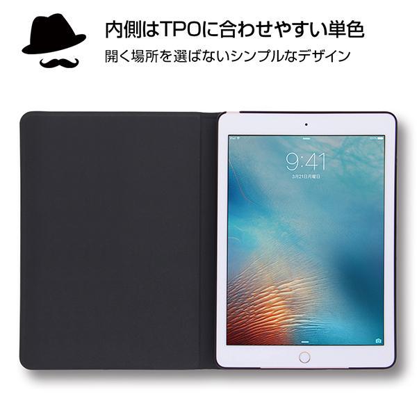iPad 第6世代 2018 9.7インチ/iPad 第5世代 2017 9.7インチ 共通 ディズニーキャラクター/レザーケース/MN015 gs-net 02