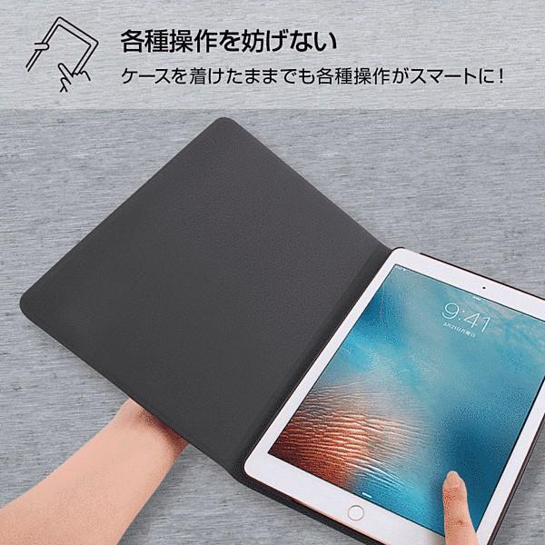 iPad 第6世代 2018 9.7インチ/iPad 第5世代 2017 9.7インチ 共通 ディズニーキャラクター/レザーケース/MN015 gs-net 08
