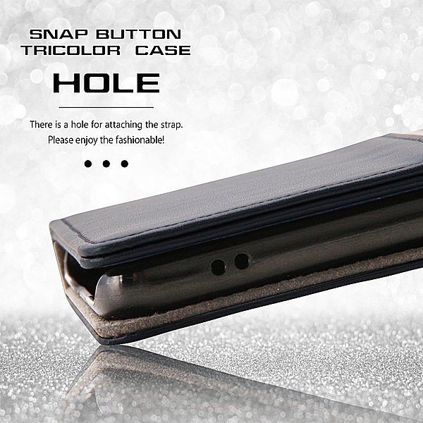 iPhone 8/iPhone 7 共通 手帳ケース/トリコロール/スナップボタン|gs-net|08