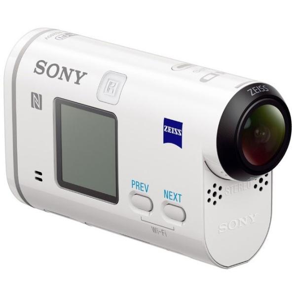 ○ハーフミラー(防指紋)タイプSONY HDR-AS200V ビデオカメラ用 22/22/R2 液晶保護フィルム 鏡に変わる!ハーフミラータイプ