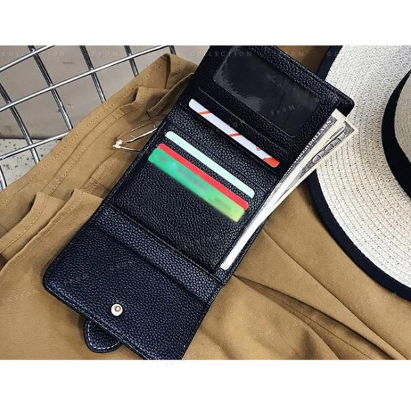 送料無料 財布 レディース 二つ折り 収納 オシャレ 人気 通勤 シンプル 可愛い プレゼント 通学 ファッション 大人 puレザー|gsgs-shopping|10