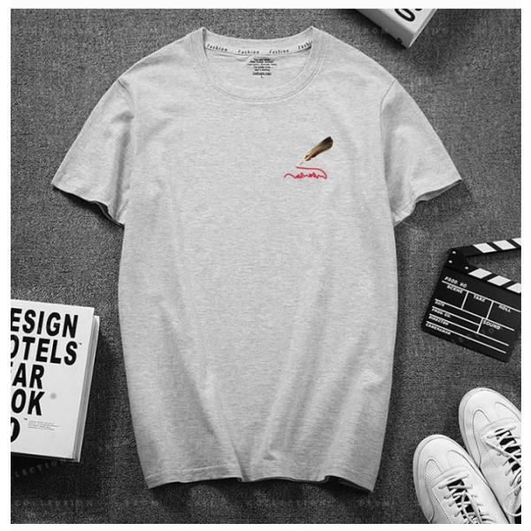 Tシャツ メンズ 半袖  細身 キレイめ トップス 透けない tシャツ 吸汗 送料無料|gsgs-shopping|12